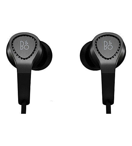 B&O PLAY BY BANG & OLUFSEN H3 in-ear headphones with mic and remote (Black
