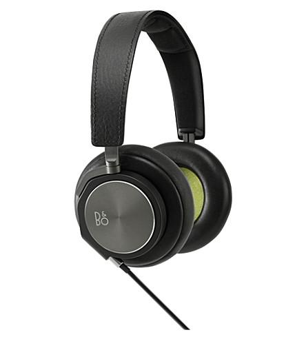 B&O PLAY BY BANG & OLUFSEN H6 leather over-ear headphones (Black