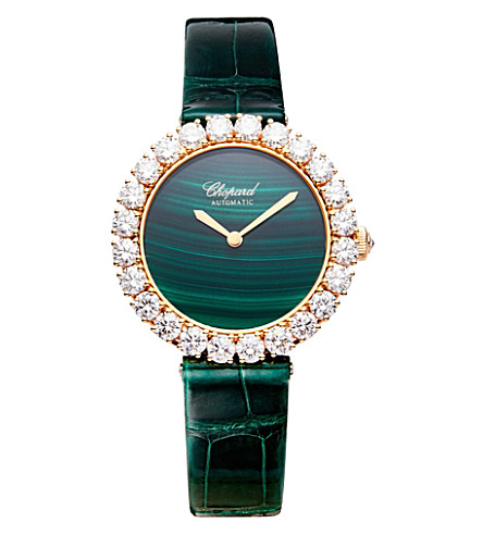 CHOPARD 109383-1002 L'heure Du Diamant 18ct white gold and diamond watch