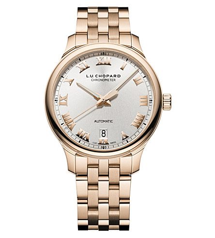 CHOPARD L.U.C 1937 Classic 18ct rose-gold watch