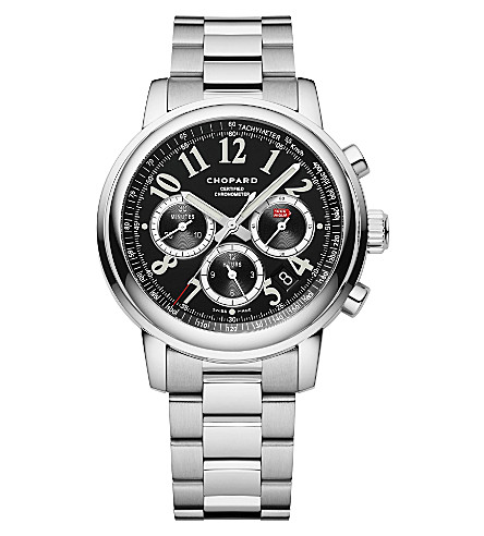 CHOPARD Mille Miglia Chronograph stainless steel watch
