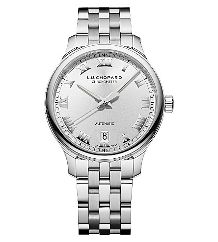 CHOPARD L.U.C 1937 Classic stainless steel watch