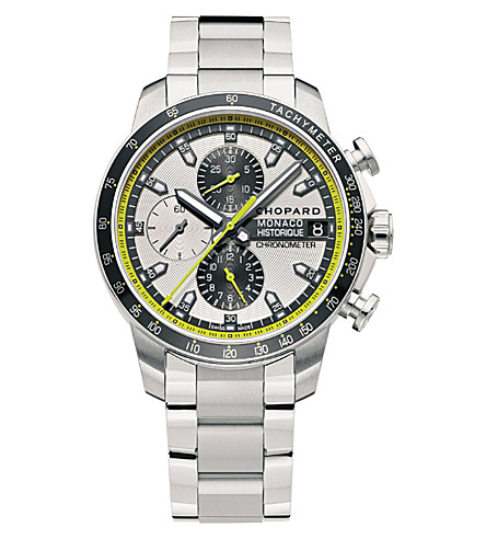 CHOPARD 158570-3001 G.P.M.H. Chronograph titanium and stainless steel watch