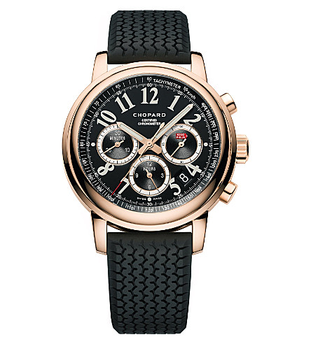 CHOPARD Mille Miglia Chronograph 18ct rose-gold watch
