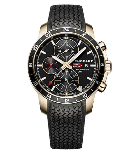 CHOPARD Mille Miglia limited-edition 18ct rose-gold watch