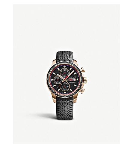 CHOPARD Mille Miglia 18ct rose-gold GTS Chrono watch
