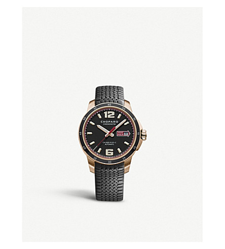 CHOPARD Mille Miglia 18ct rose-gold GTS automatic watch