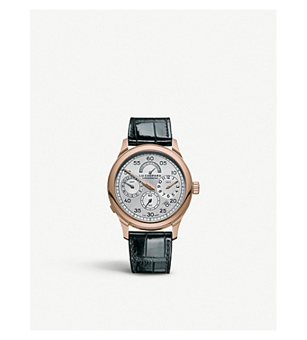 CHOPARD L.U.C Regulator Rose-Gold Watch