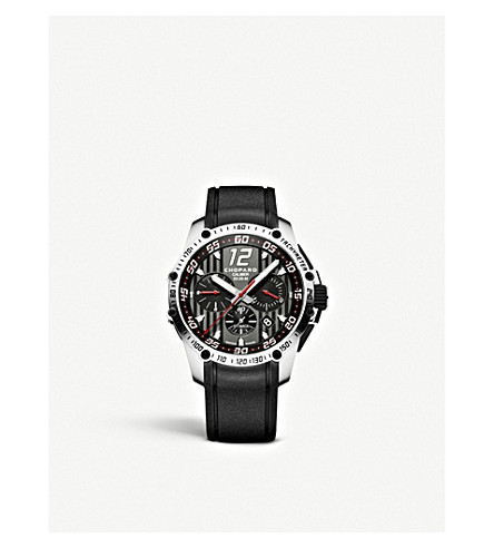 CHOPARD Superfast Chrono stainless steel watch