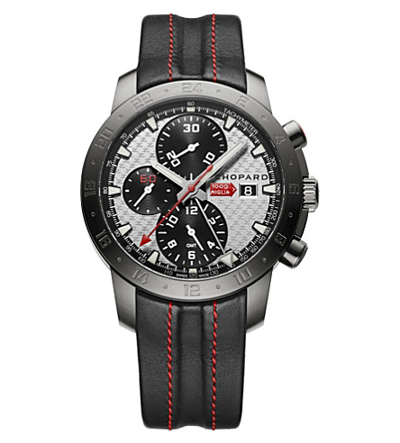 CHOPARD Mille Miglia Zagato limited-edition stainless steel watch