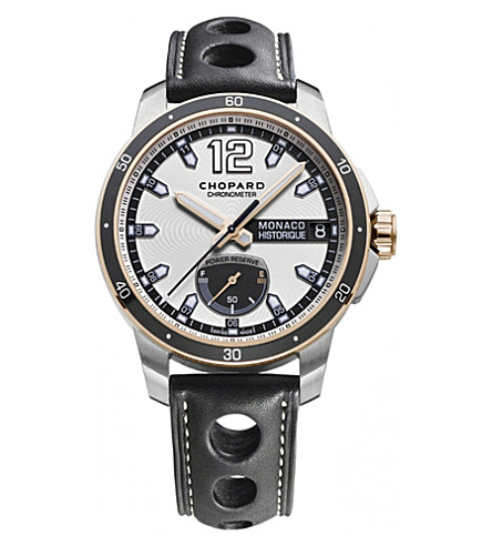 CHOPARD G.P.M.H. Power Control 18ct rose-gold, titanium and stainless steel watch