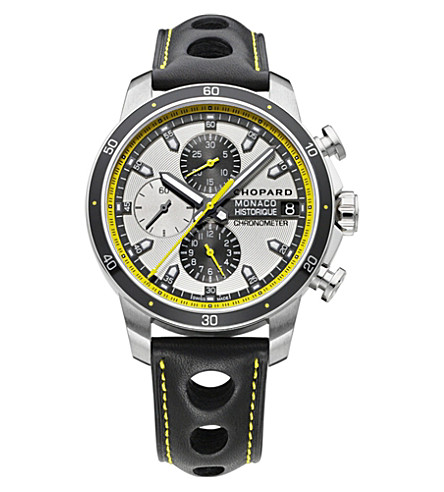 CHOPARD G.P.M.H. Chrono titanium and stainless steel watch