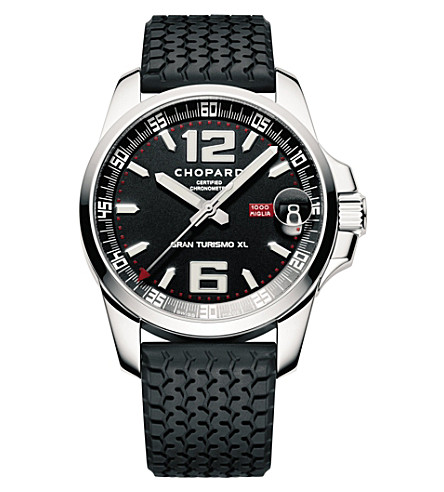 CHOPARD 168997-3001 Classic racing stainless steel watch