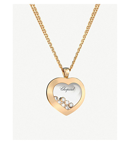 Chopard happy diamonds icons 18ct rose gold and diamond pendant chopard happy diamonds icons 18ct rose gold and diamond pendant aloadofball Gallery