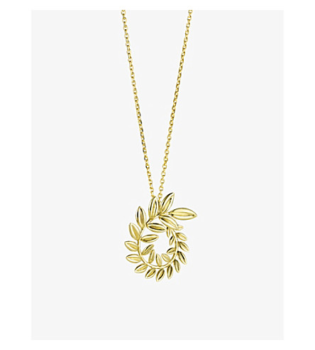 CHOPARD Palme Verte 18ct gold necklace