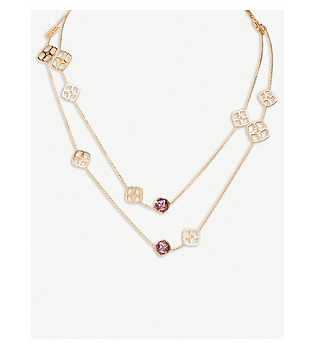 CHOPARD IMPERIALE Sautoir 18ct rose-gold and amethyst necklace