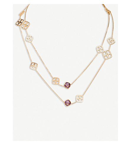 CHOPARD 普利亚 Sautoir 18ct 玫瑰金色和紫水晶项链