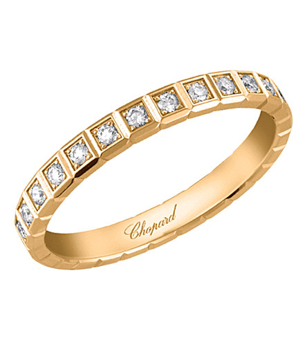 CHOPARD Ice Cube 18ct gold and diamond ring
