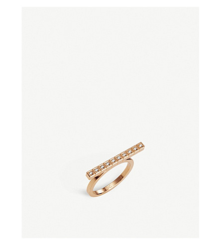 CHOPARD Rihanna Loves Chopard 18ct rose-gold and diamond ring