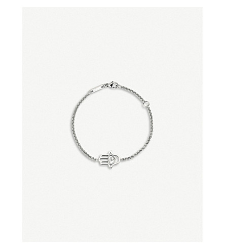 CHOPARD 快乐钻石图标18ct 白金钻石手链