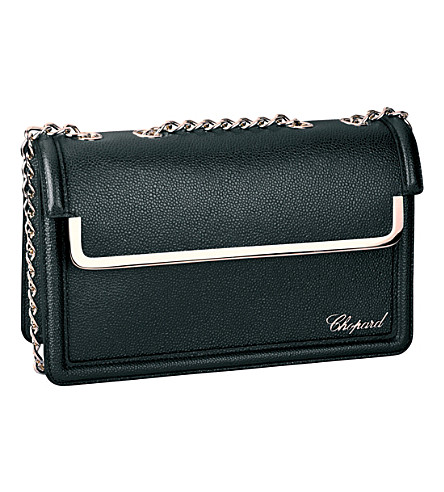 CHOPARD Vintage leather shoulder bag