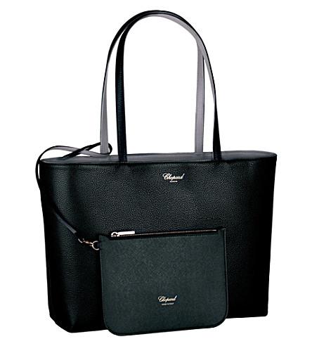 CHOPARD Miss Happy reversible leather shoulder bag