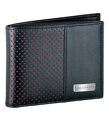 CHOPARD Classic Racing small leather wallet