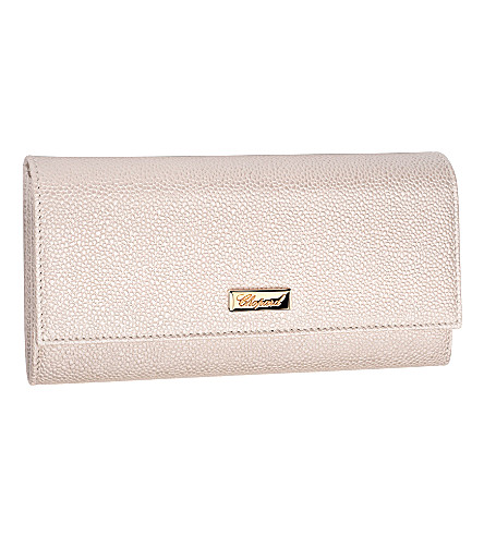 CHOPARD Miss Happy calfskin leather wallet