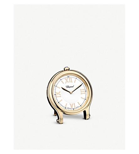 CHOPARD 快乐运动玫瑰-镀金表时钟
