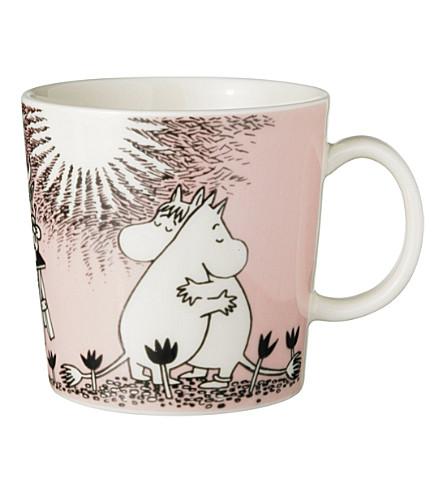 SKANDIUM Iittala moomin Pink Love porcelain mug (Pink