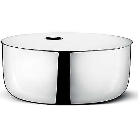 GEORG JENSEN ILSE large stainless steel box