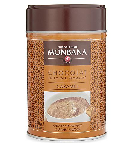 MONBANA 焦糖味热巧克力粉250g