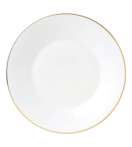 JASPER CONRAN @ WEDGWOOD Jasper Conran Gold Tipped plate 23cm