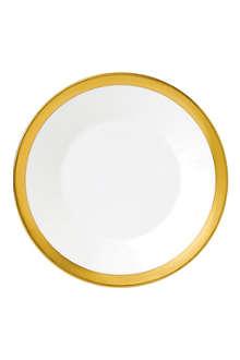 JASPER CONRAN @ WEDGWOOD Jasper Conran Gold Banded plate 18cm