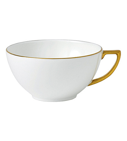 JASPER CONRAN @ WEDGWOOD Jasper Conran Gold Tipped tea cup 230ml