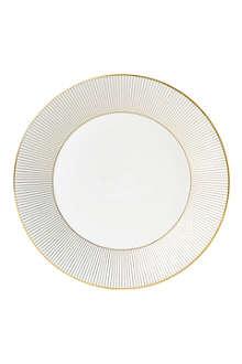 JASPER CONRAN @ WEDGWOOD Jasper Conran Gold Pinstripe plate 27cm