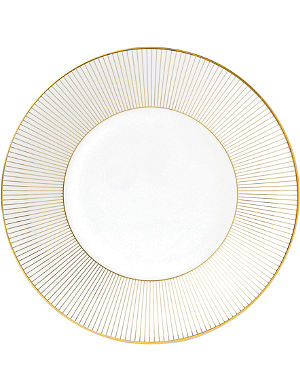 JASPER CONRAN @ WEDGWOOD Jasper Conran Gold Pinstripe plate 23cm
