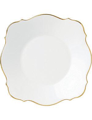JASPER CONRAN @ WEDGWOOD Jasper Conran Baroque Gold Tipped Charger plate 18cm