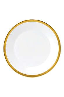JASPER CONRAN @ WEDGWOOD Jasper Conran Gold Banded plate 27cm