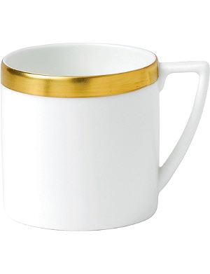 JASPER CONRAN @ WEDGWOOD Jasper Conran Gold Banded mini mug 290ml