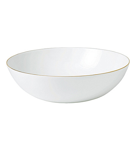 JASPER CONRAN @ WEDGWOOD Jasper Conran Gold Tipped serving bowl 31cm