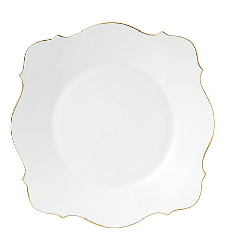 JASPER CONRAN @ WEDGWOOD Jasper Conran Baroque Gold Tipped Charger plate 33cm