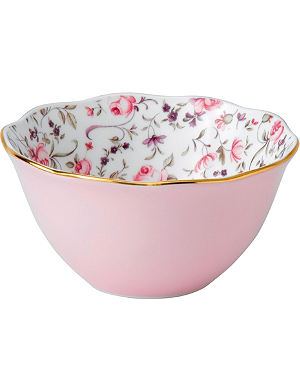 ROYAL ALBERT Rose Confetti bowl 11cm