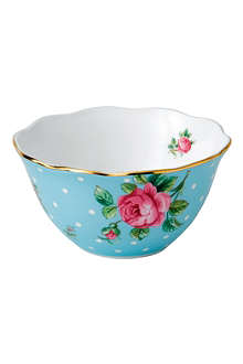 ROYAL ALBERT Polka Blue Vintage small bowl 11cm