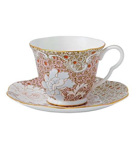 WEDGWOOD Daisy tea cup & saucer set