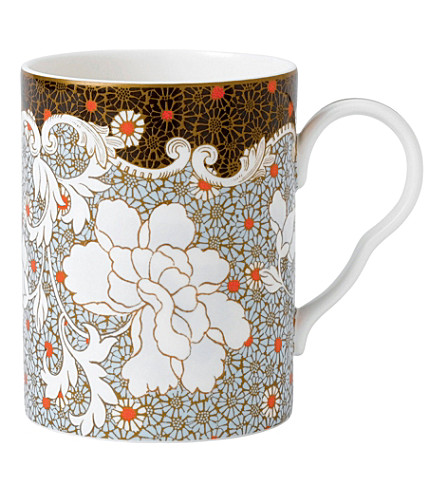 WEDGWOOD Daisy large mug, blue