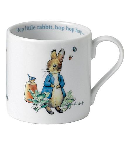 WEDGWOOD Peter Rabbit mug in tin