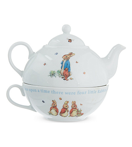 WEDGWOOD Peter Rabbit tea for one