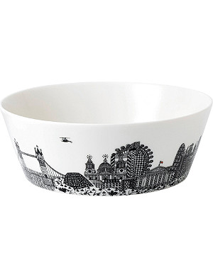 ROYAL DOULTON Charlene Mullen london city scape bowl 25cm