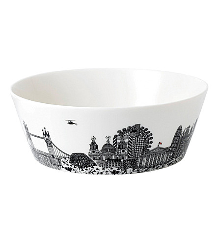 ROYAL DOULTON Charlene Mullen london city scape bowl 25cm